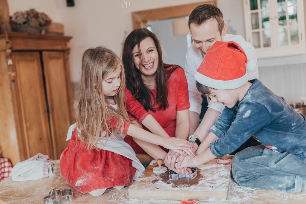 Sesja świąteczna – pieczenie pierników