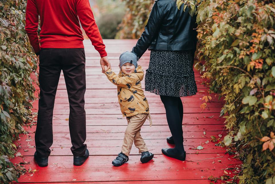 Jesienny rodzinny spacer