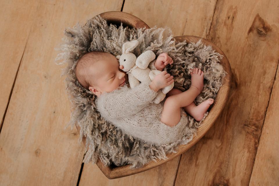 Brunio – sesja noworodkowa